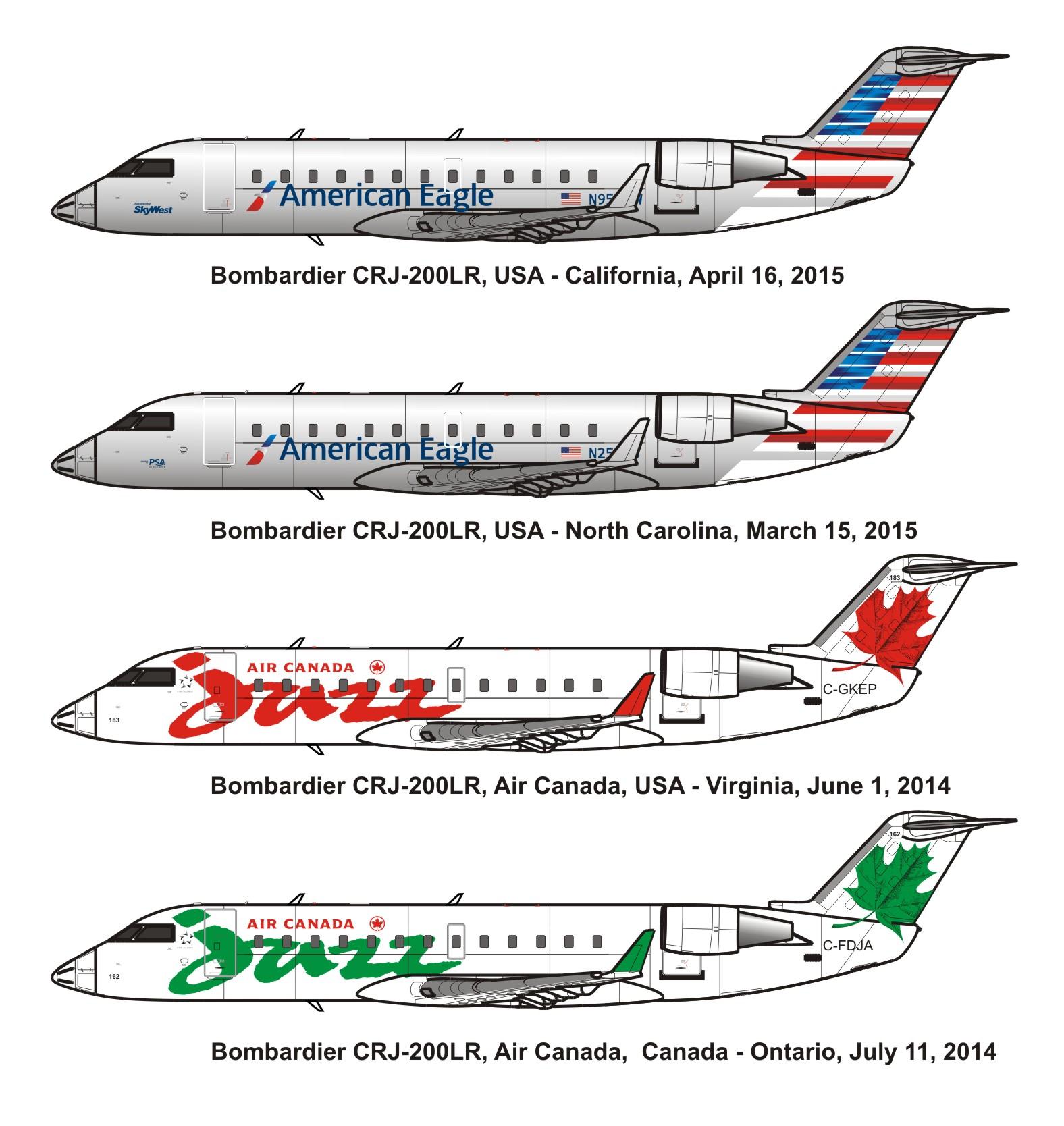 Fsx Us Airways Express Arr Crj 700 Repaint